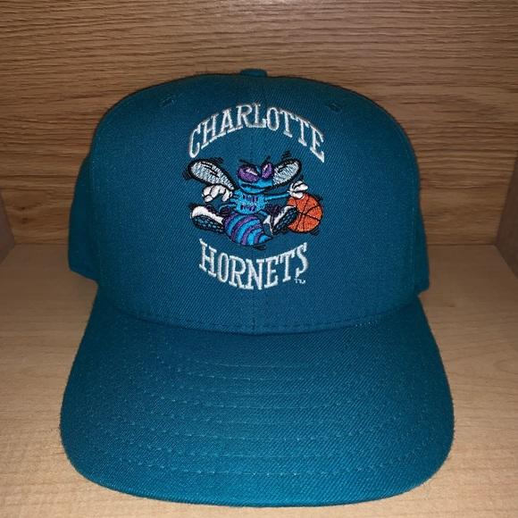 New Era Accessories Vintage Charlotte Hornets Nba Basketball Hat Poshmark